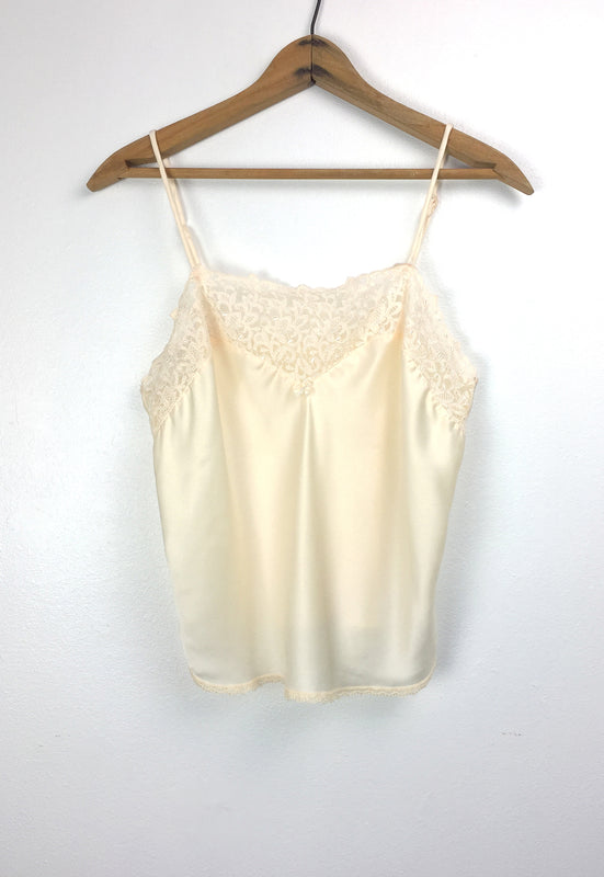 Beautiful Vintage Satin Lingerie Camisole