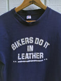 """Bikers Do It In Leather"" Super Soft Vintage T Shirt"