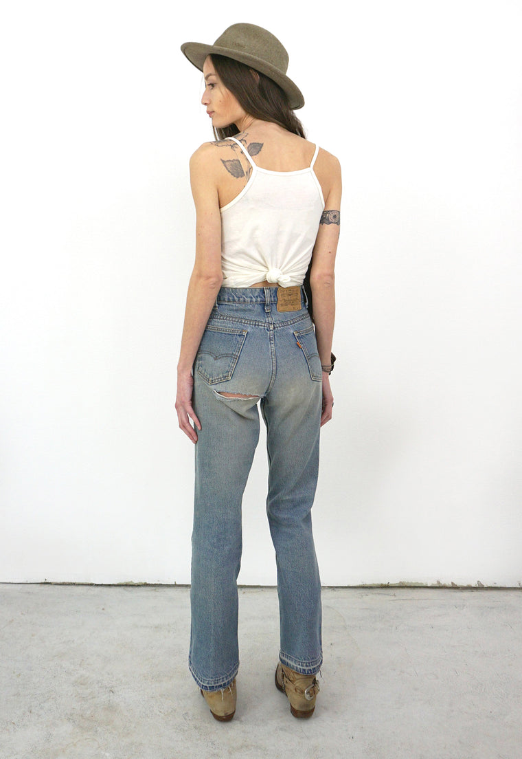 Orange Tab Levi's Cheeky Vintage Jeans