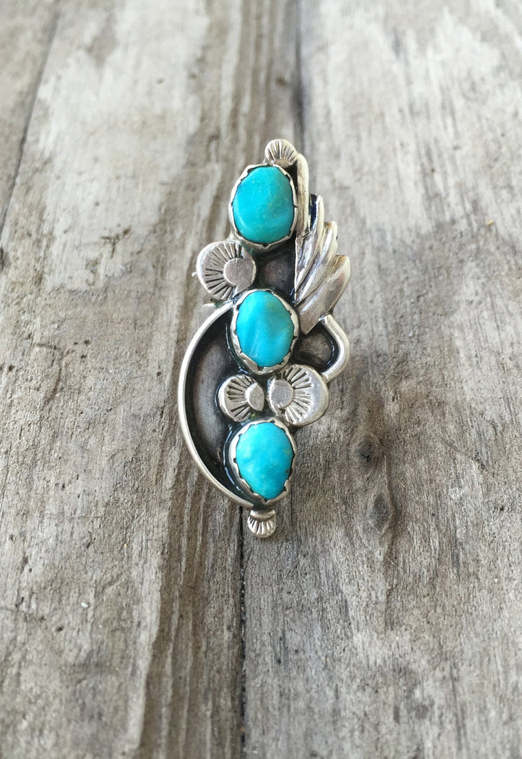 Cher Native American Turquoise Ring