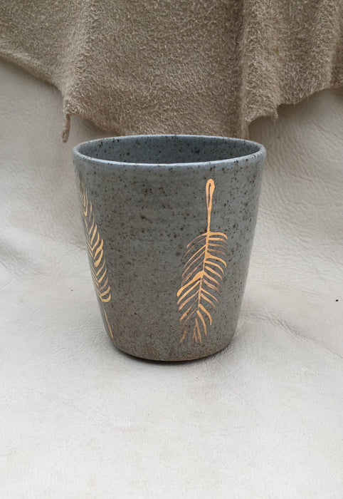 Feathers Handleless Mug