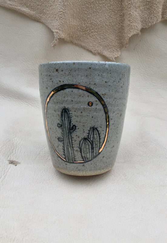 Saguaro Sunrise Handleless Mug