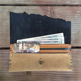 Metallic Gold Dust 'Drifter' Wallet