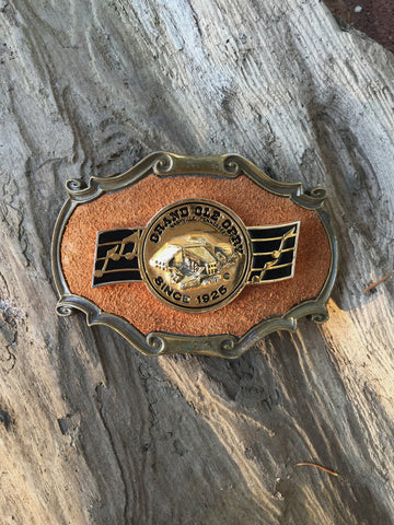 1978 'Grand Ole Opry' Rare Nashville, Belt Buckle