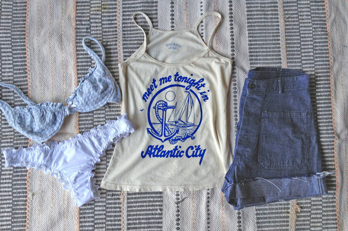 "Whipped Cream ""Atlantic City"" Tank"