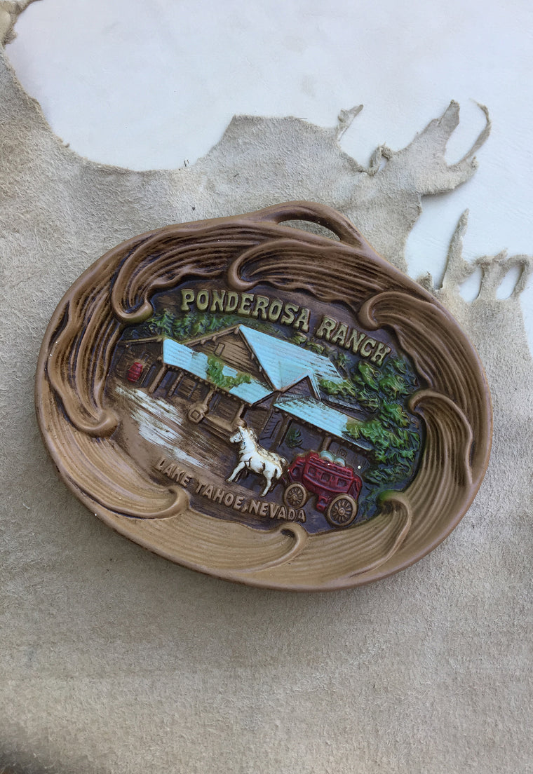 'Ponderosa Ranch' Decorative Plate