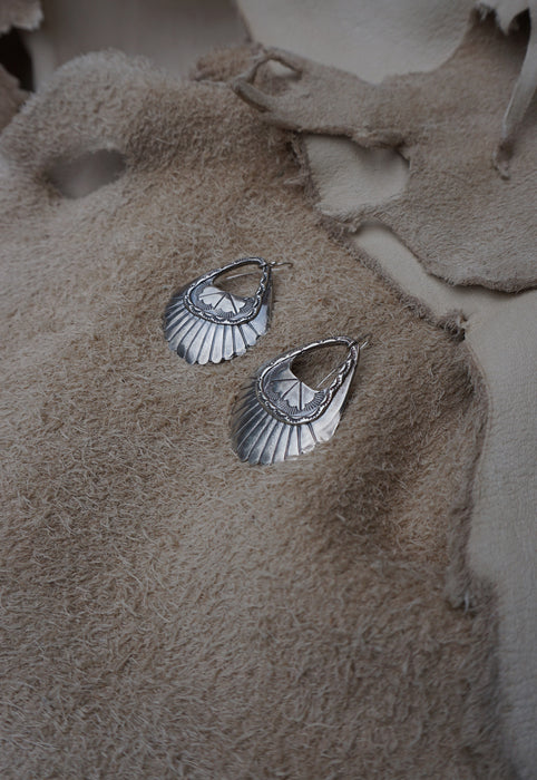 Saloon Earrings - Sterling Silver