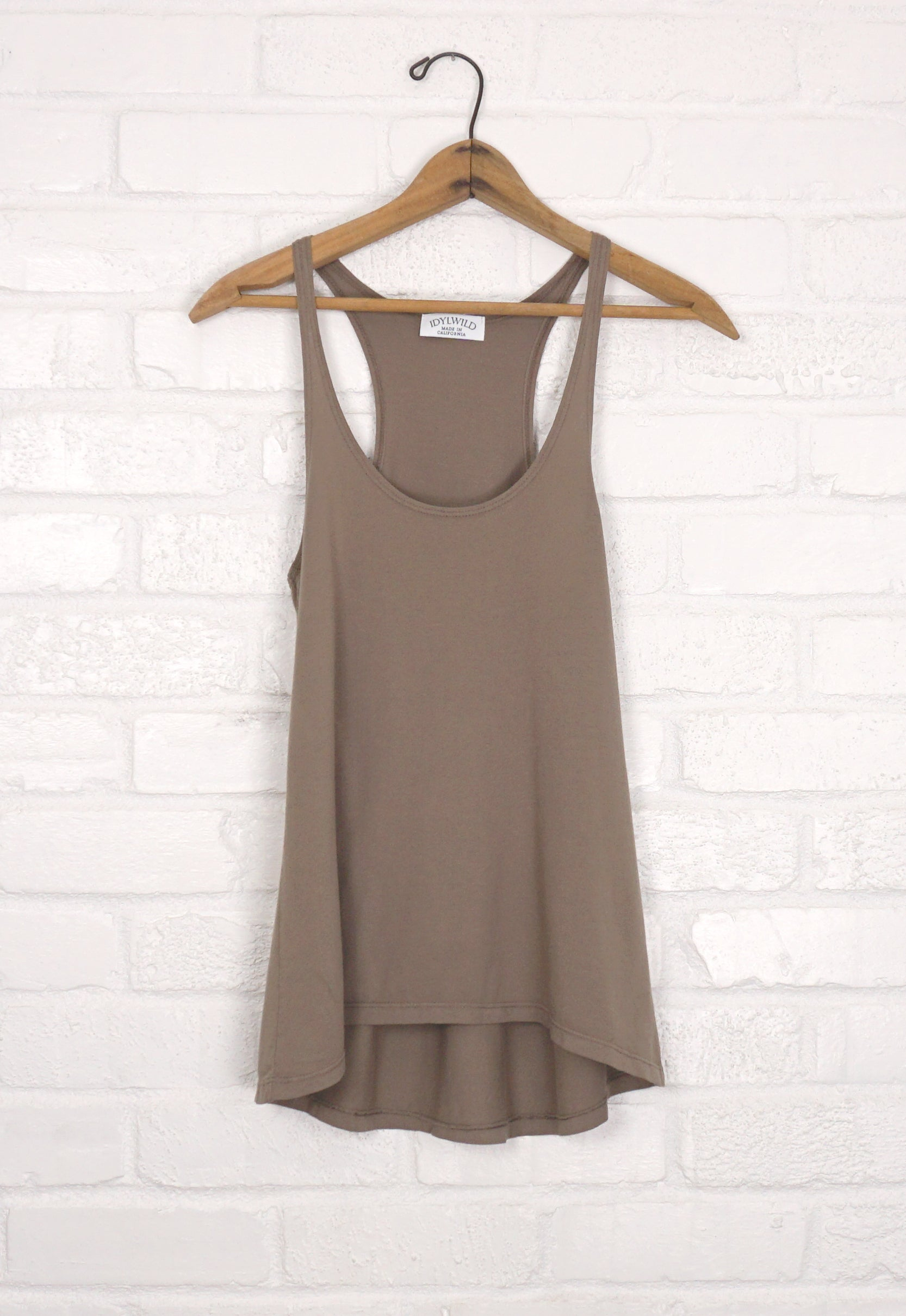 Suede Idylwild A Line Tank