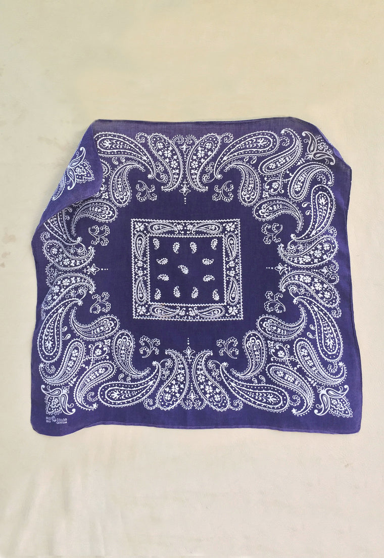 Collector's 1950's Vintage 'Trunk Up' Elephant Bandana