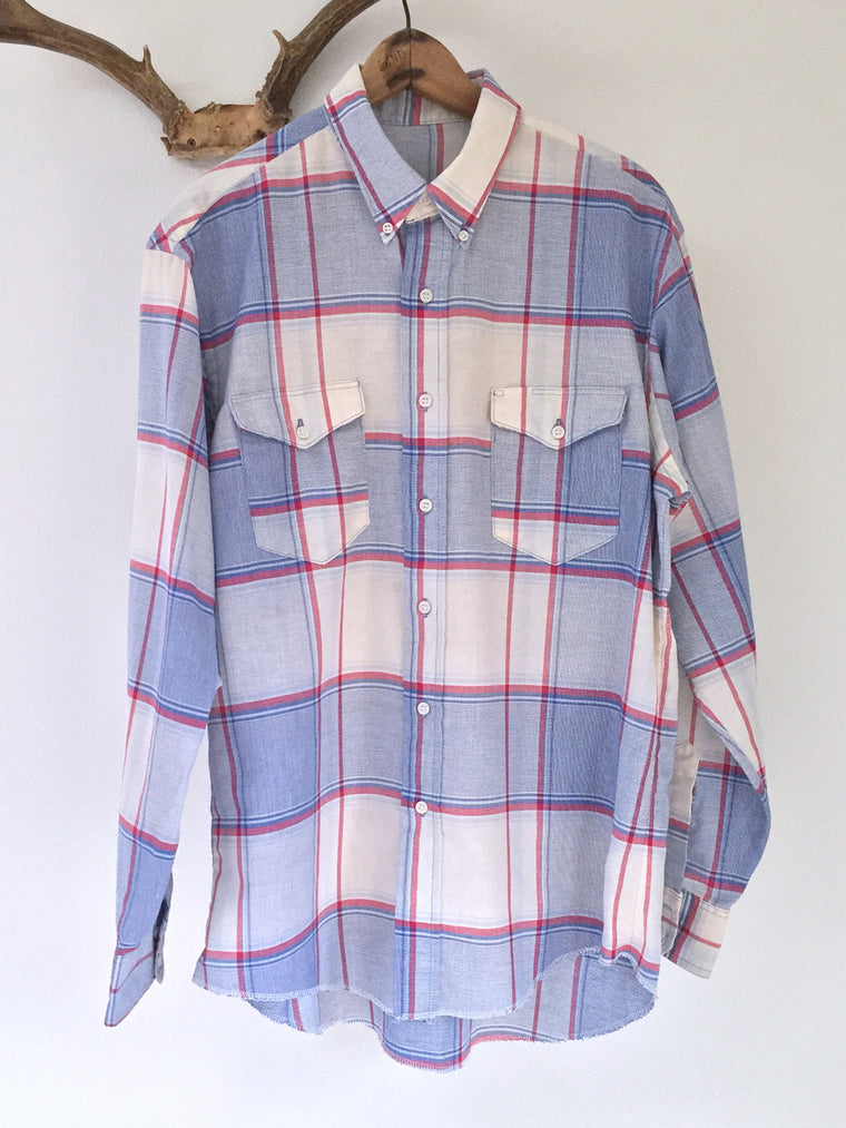 Wrangler Cowboy Cut Button Down Shirt L