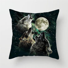 Load image into Gallery viewer, Animal Painting Cushion Cover
