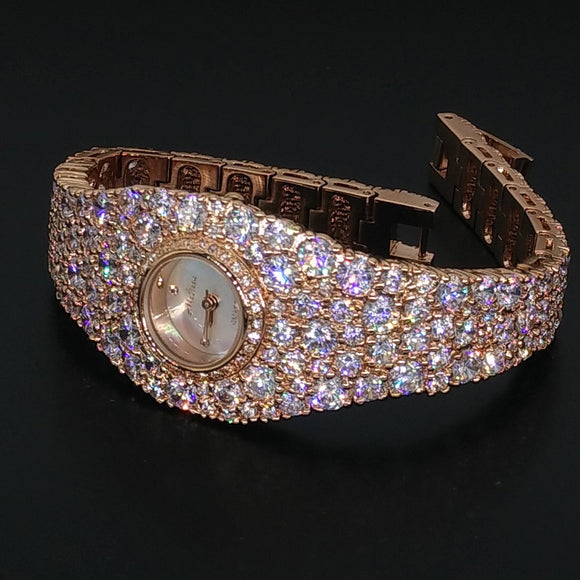 Melissa Extravagant Full Crystals Jewelry Watch