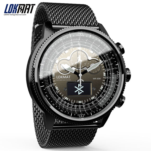 LOKMAT Bluetooth Smart Watch Sport