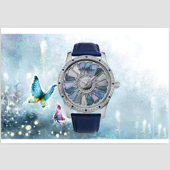 Melissa Spring Element Colorful Shell Flower Watch