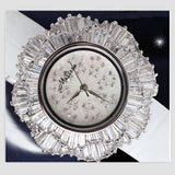 Melissa Rhinestone Crystal Flower Watch