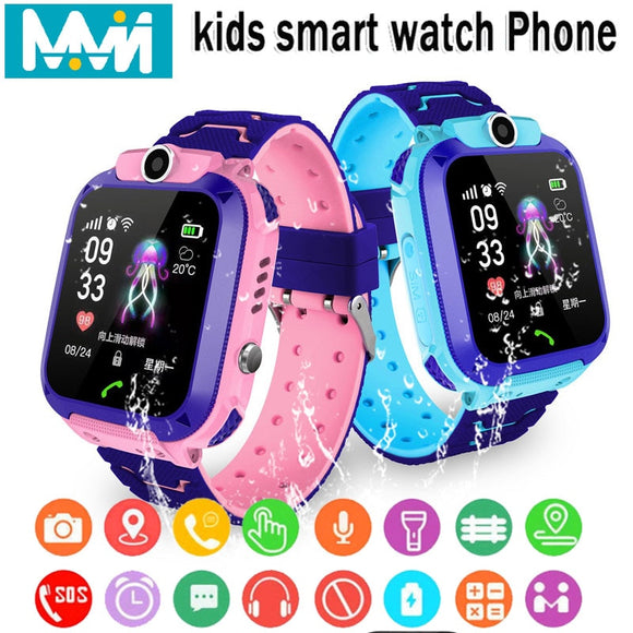Kids Smart Watch IPX7 Waterproof