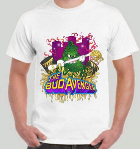 HIGHEND-O CLOTHING - THE BUD AVENGERS  TEE WHITE