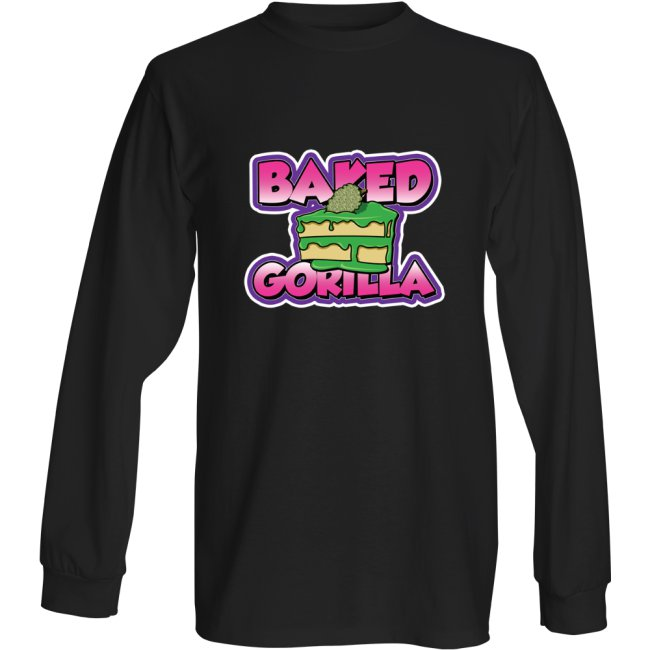 BAKED GORILLA - BLACK LONG SLEEVE