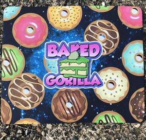 BAKED GORILLA CAKE - RECTANGLE WATER PIPE MAT