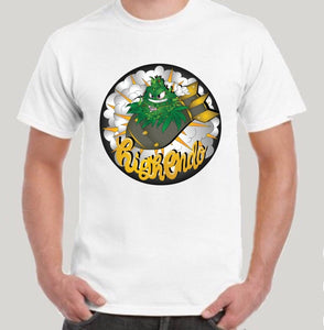 HIGHEND-O CLOTHING - BUD BOMB TEE WHITE