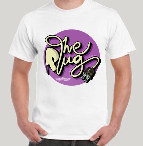 THE PLUG - THE PLUG LOGO TEE WHITE