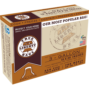 True Liberty 3 Gallon Bag - 1 Case  - 500 bags