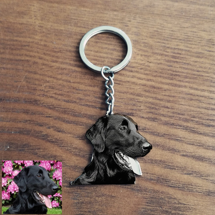 CustomizeYou Personalized Pet Keychain