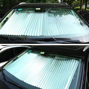 Car Sun Insulation Curtain UV Protection Retractable Shield Cover