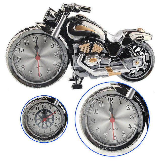Motorcycle Alarm Clock  Boutique Home Decorator