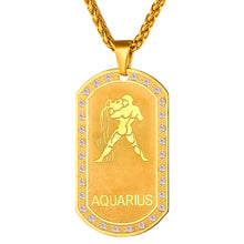 Zodiac Charms Pendant Necklace