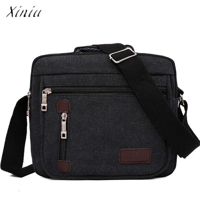 Men Vintage Business Messenger Bag