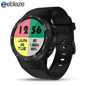 Zeblaze THOR 4  4G LTE GPS SmartWatch Android 7.0 MTK6737 Quad Core 1GB+16GB 5.0MP 580mAh 4G/3G/2G Data Call Watch Men