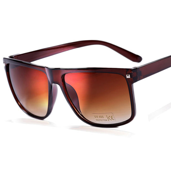 OVZA Classic Brown and Black Sunglasses