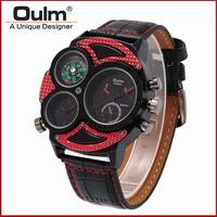 Oulm Brand Men Fashion Watch