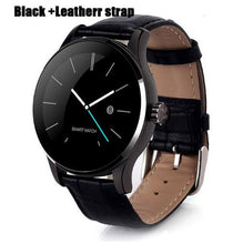 Elegant Round Touch Screen Men Smart Watch For IOS Android