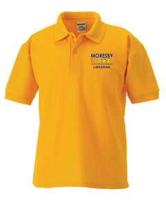 Moresby School - Librarian Polo Shirt