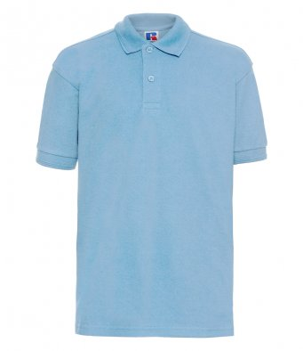 Moor Row - Adult's Sky Blue Polo