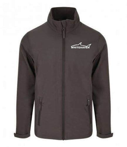 Whitehaven Sharks Charcoal Adult's Softshell Jacket