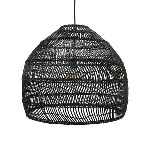 Black Basket Pendant