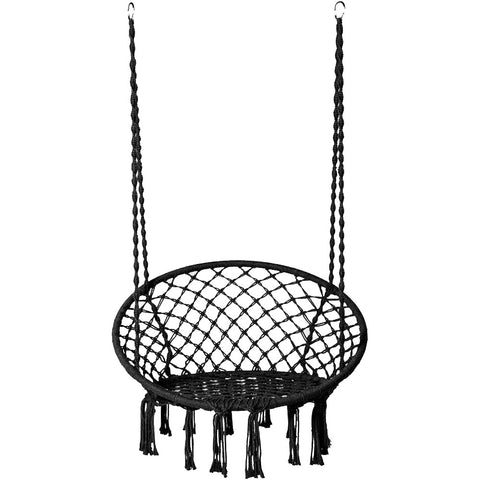 Hammock Chair Swing Black