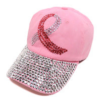 Awareness Cancer Blk Cap