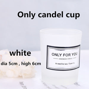 Christmas Soy Wax Scented Candle Romantic Aromatherapy Candle Glass Smokeless Candle Party Christmas Decoration Wedding Gift