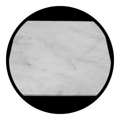 Carrara Marble Italian White Bianco Carrera 18x18 Marble Tile Honed