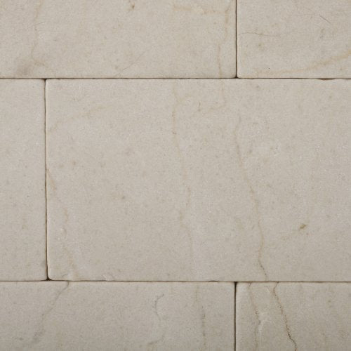 Crema Marfil Marble 3 X 6 Tumbled Brick Field Tile - 2 pcs. Sample-Set