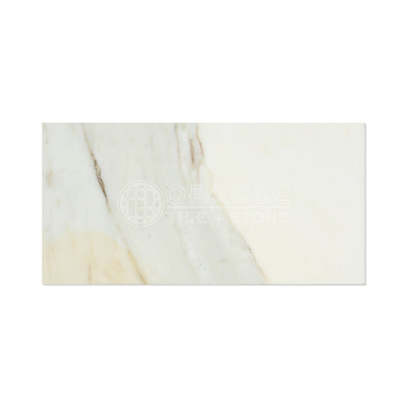 Calacatta Gold (Italian Calcutta) Marble 12 X 24 Field Tile (Lot of 100 pcs. (200 sq. ft.), Honed)