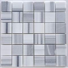 Mink Marmara Equator Marble 2 X 2 Polished Mosaic Tile - Box of 5 Sheets