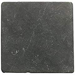 Negro Marquina 6 X 6 Field Tile, Tumbled Lot of - 1 Pcs.
