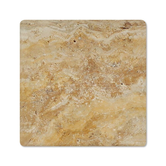 Valencia Travertine 4 X 4 Field Tile, Tumbled (LOT of 5 SQ. FT.)