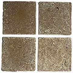 Noce 6 X 6 Field Tile, Tumbled Lot of - 10 Pcs.