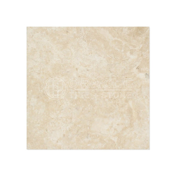 Durango Cream (Paredon) Travertine 6 X 6 Field Tile, Filled & Honed